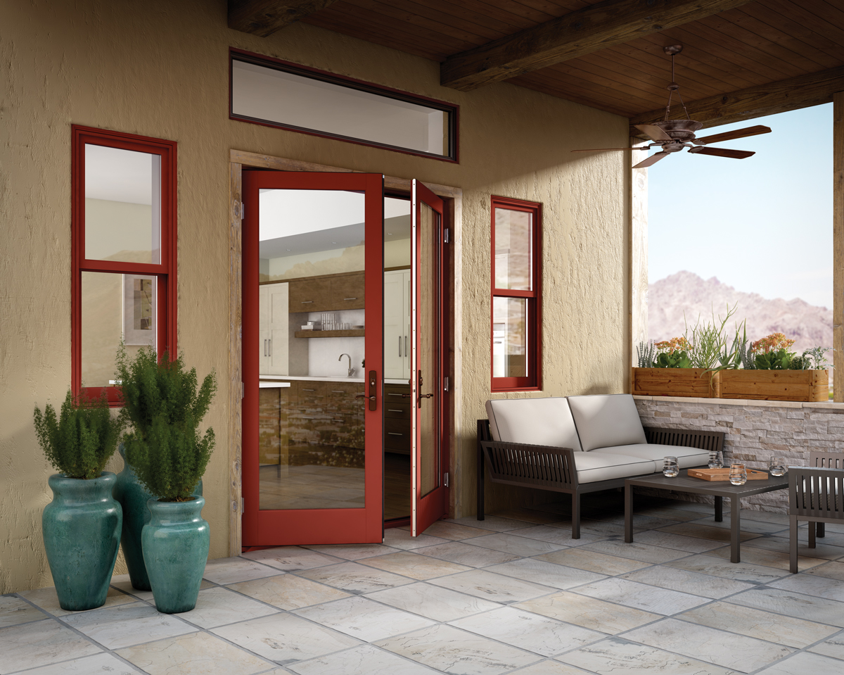 Out-Swing Patio Doors - Essence Series