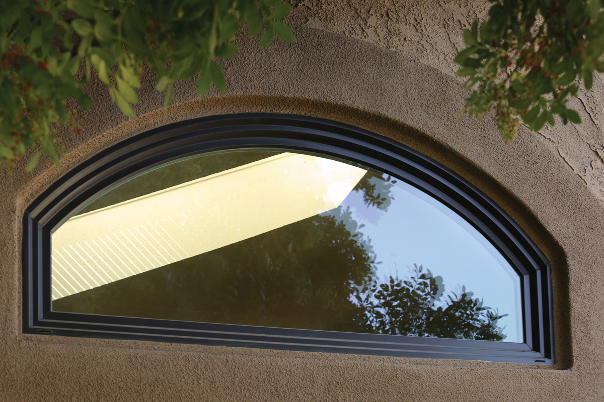 Photo gallery milgard ca for Arch window replacement