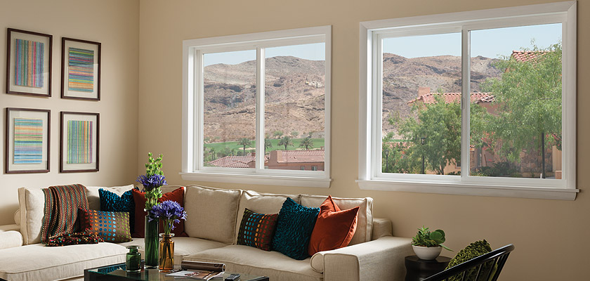 Horizontal Sliding Windows Wood Vinyl Fiberglass