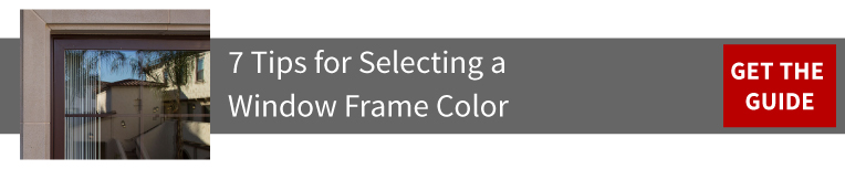 Window Frame Color Guide
