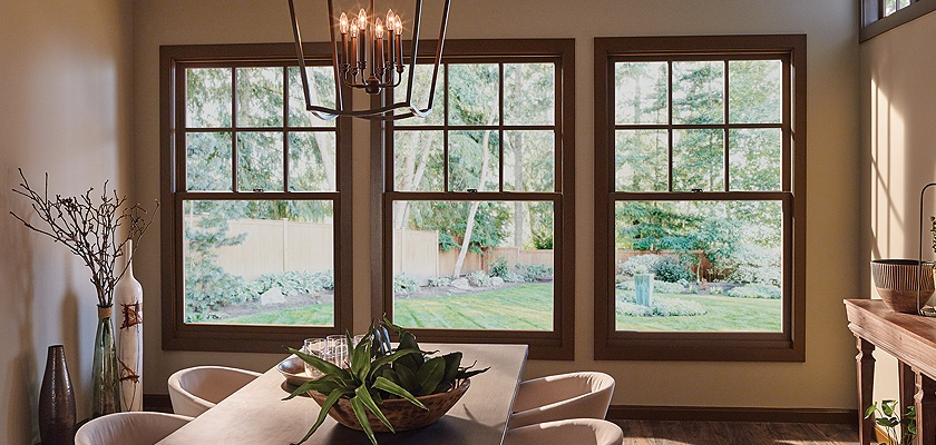 Essence Series wood double hung windows