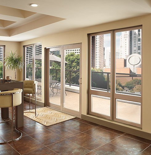 Vinyl French Style Sliding Patio Door Montecito 174 Series