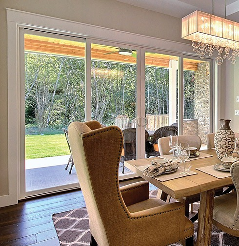 High End Vinyl In Swing French Patio Doors Tuscany Series