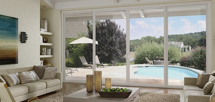High End Vinyl Patio Doors Tuscany Series Milgard