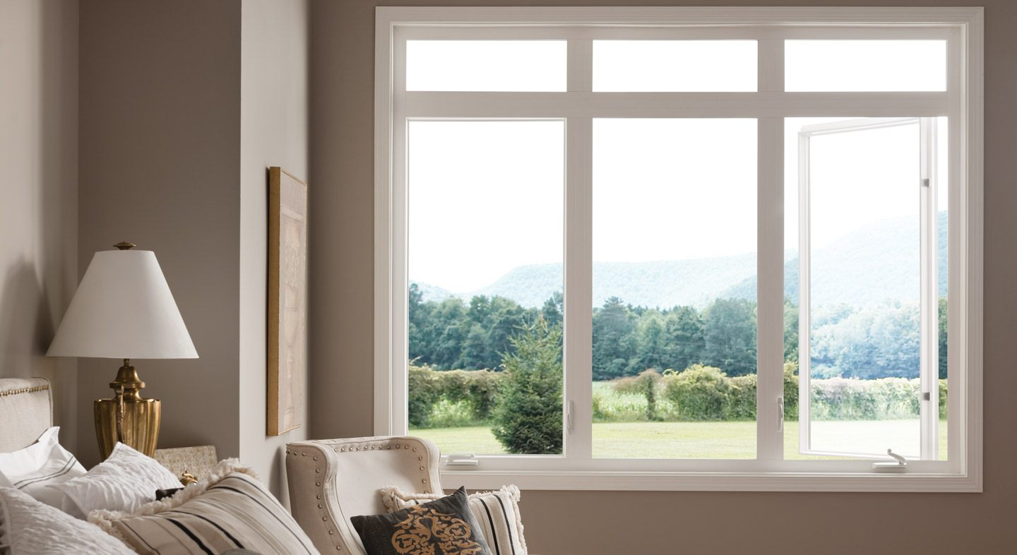 Style Line Series vinyl casement windows