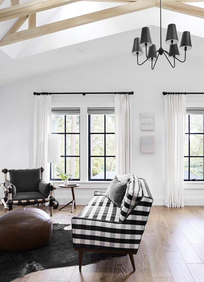 Black Bedroom Windows