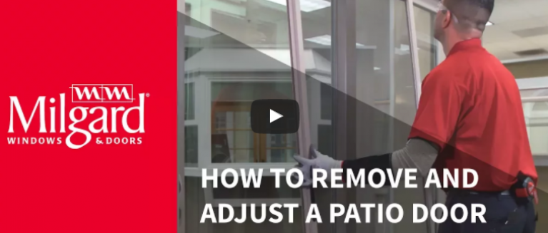 How To Remove A Patio Door Screen Milgard Blog Milgard Ca