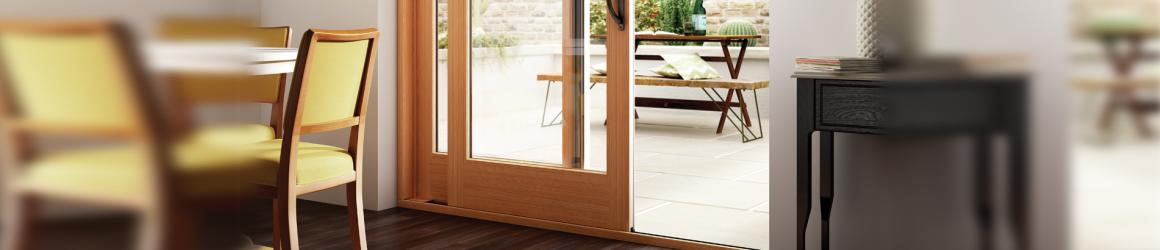 Learn more about the new Essence Series Sliding Patio Door with a solid  wood interior French Sliding Doors   Wood  Vinyl   Fiberglass   Milgard Windows  . New Style Patio Doors. Home Design Ideas