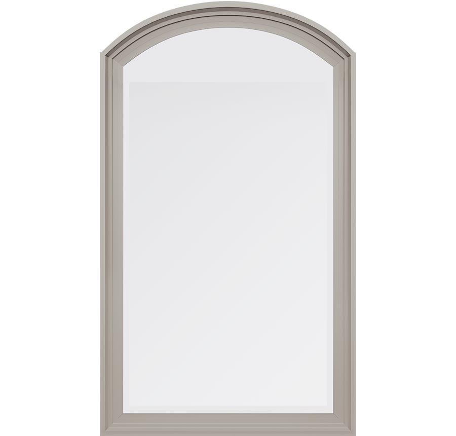 Trinsic Series vinyl radius picture windows