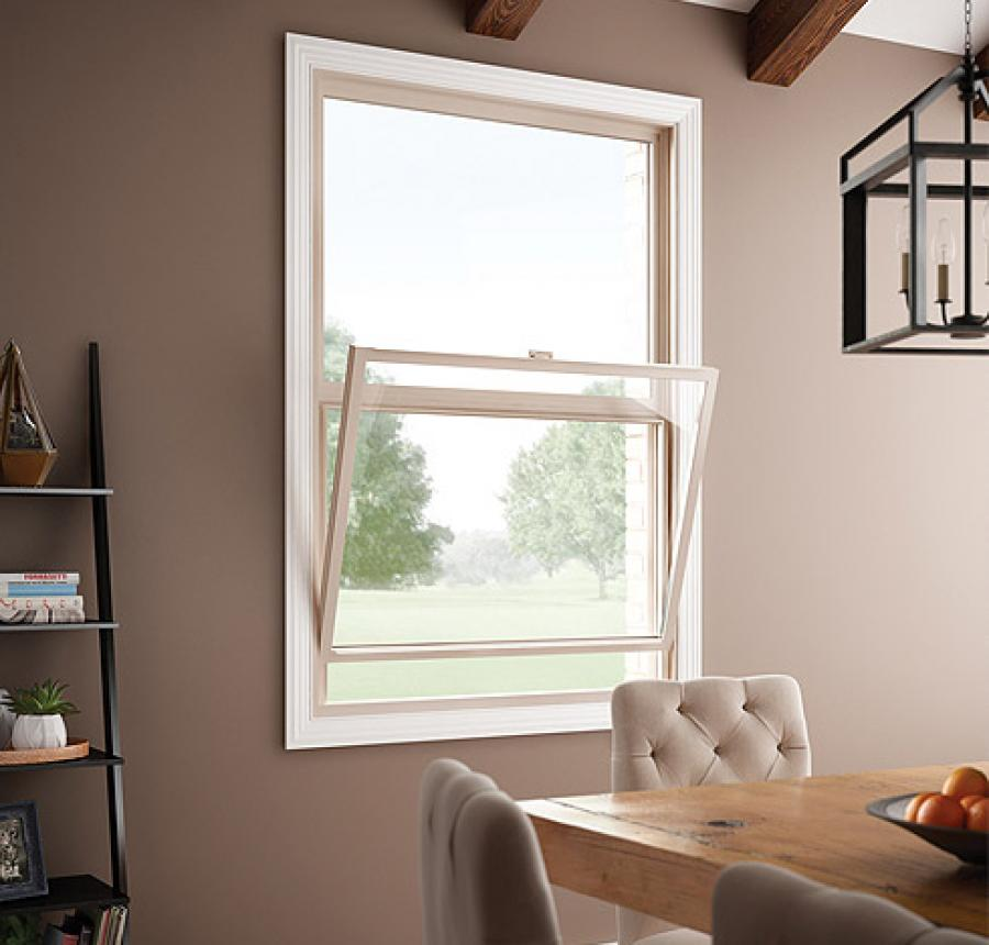 Hermosa Series vinyl Single Hung Tilt window