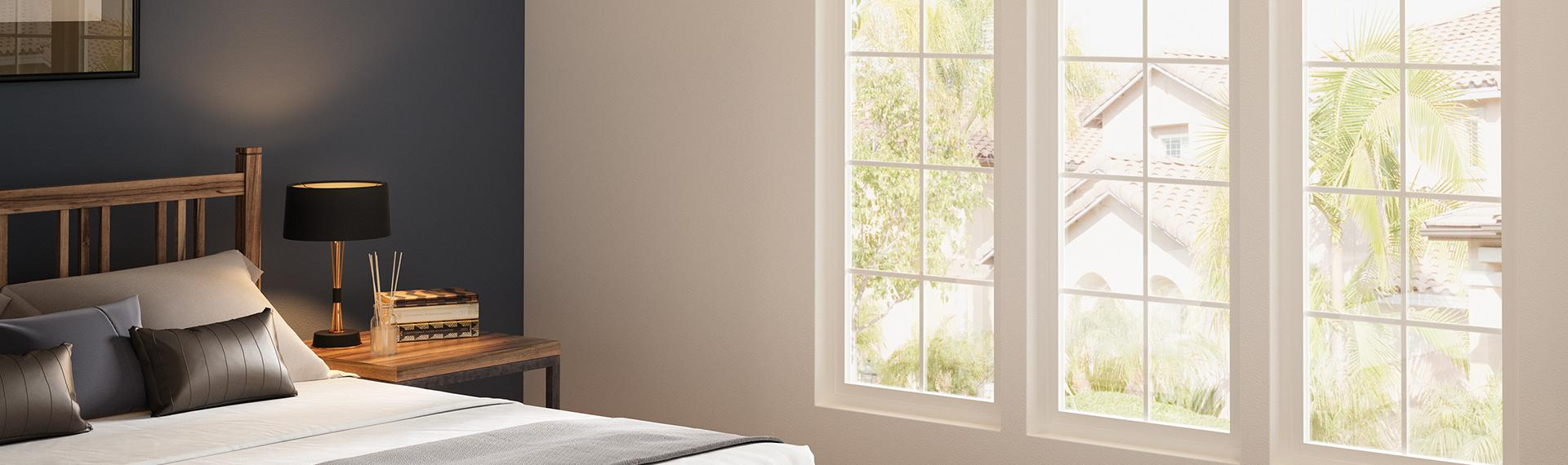 Trinsic Series windows with grids