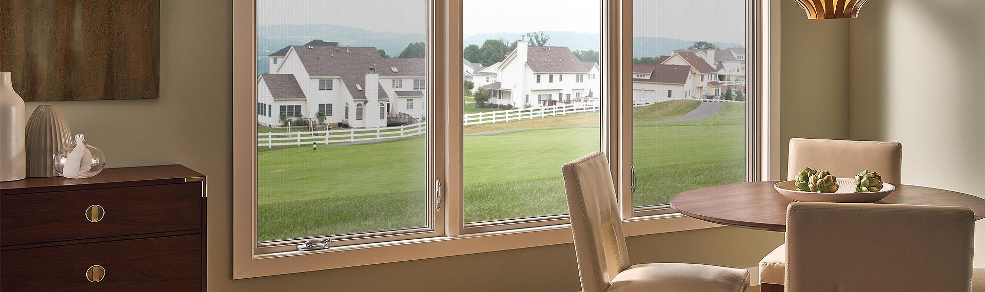 Ultra Series fiberglass casement picture windows