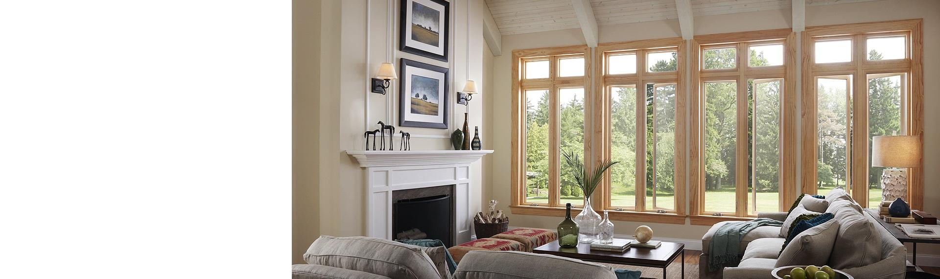Essence Series wood casement windows