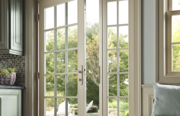 French-style patio doors for home use