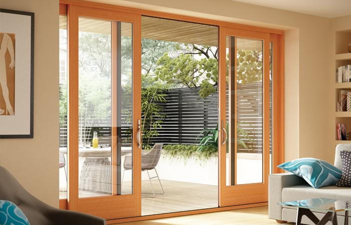 Essence Series 4-panel sliding door