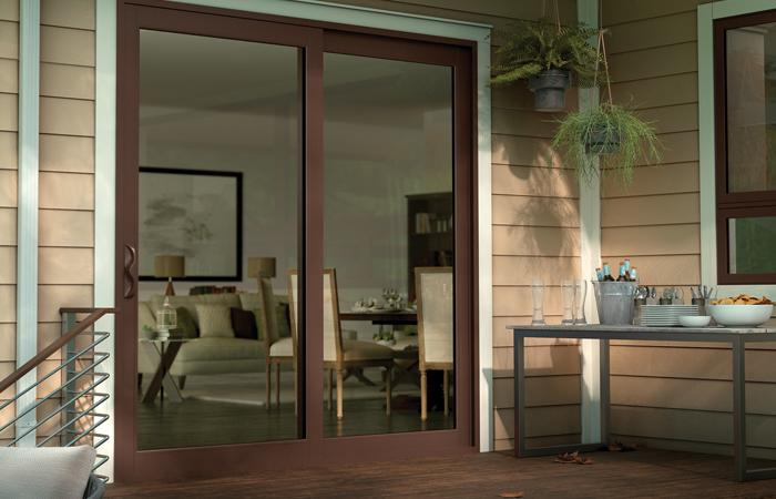 Tuscany Series vinyl 2-panel sliding patio door with SmartTouch® handle