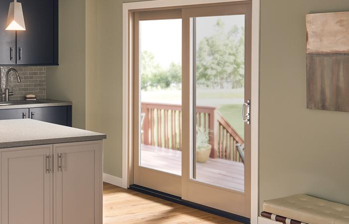 Ultra Series 2-panel sliding patio door in Harmony
