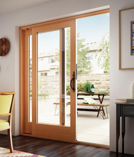 Essence Series wood sliding patio door