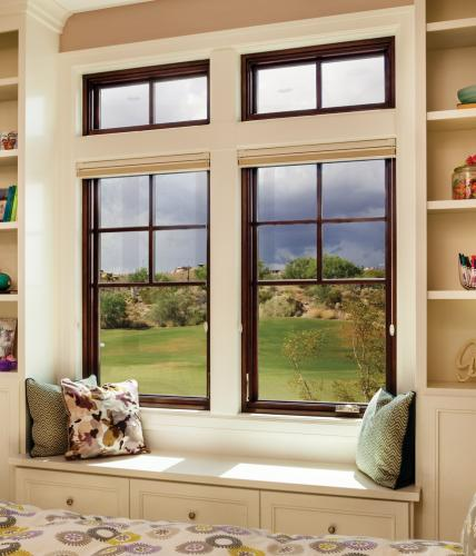 Fiberglass bay bow windows ultra series milgard for Milgard fiberglass windows reviews