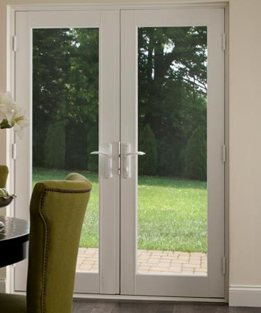 Vinyl In-Swing French Patio Doors