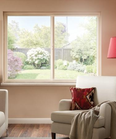 Hermosa Series vinyl horizontal slider window