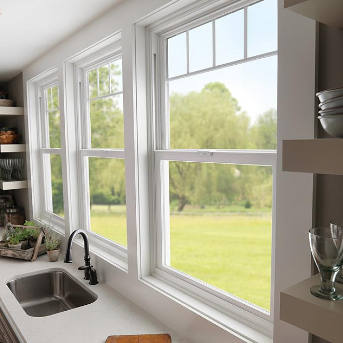 Double Hung Windows Wood And Vinyl Milgard