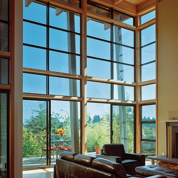 Aluminum Series picture windows and sliding patio doors