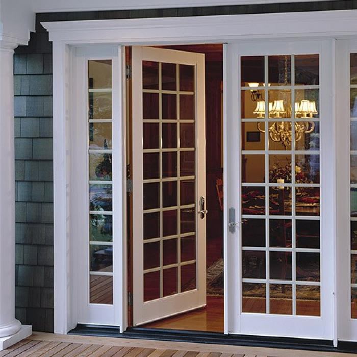 Ultra Series fiberglass in-swing French patio door