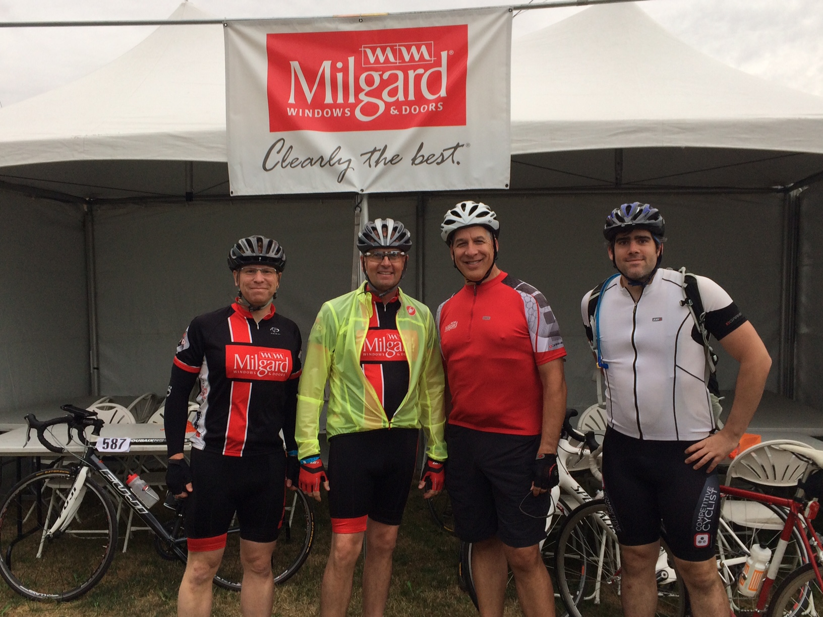 Milgard Bike MS Rider Team